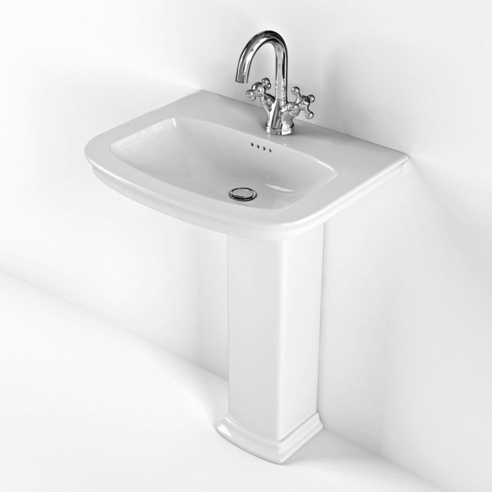Awesome Bathroom Sink 3D Model: Functional and Elegant