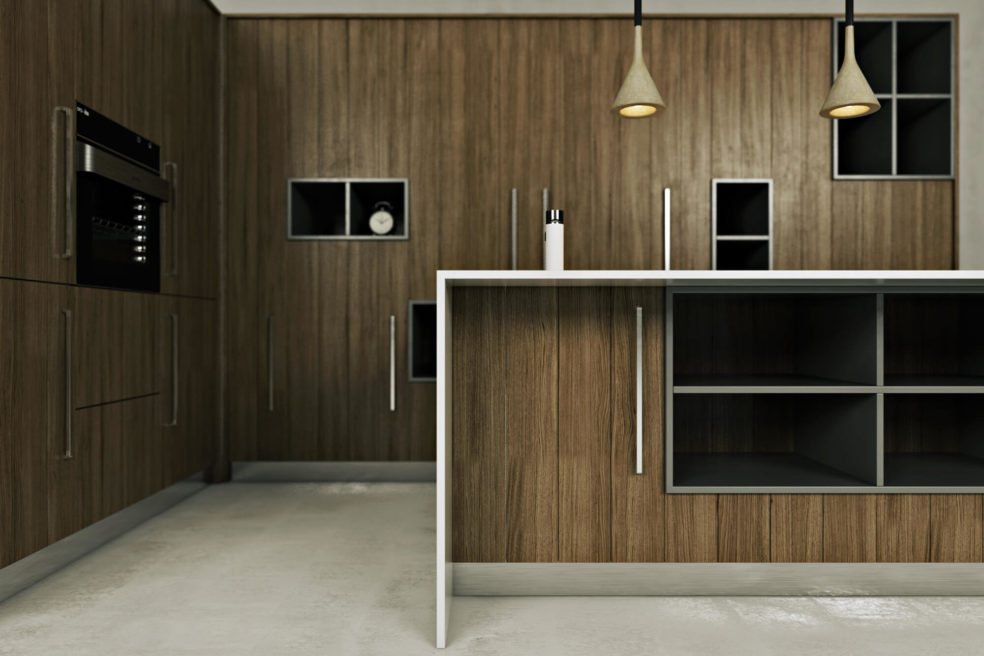 Stunning CGI Modeling for Kitchen Project. View03