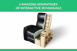 Why Furniture Manufacturers Use Product Interactive 3D Manuals