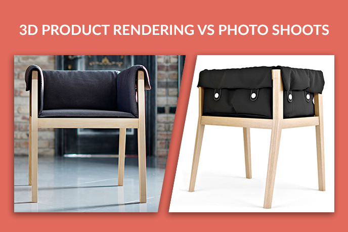 Solution For A Furniture Business: 3D Product Rendering Or Photos