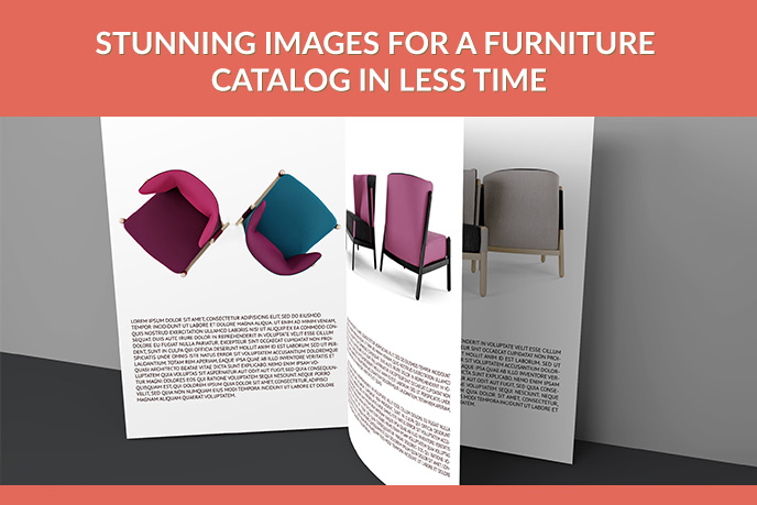 Surreal Product Images For Furniture Catalogs