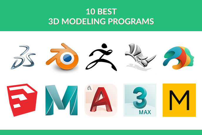 10 Best 3D Modeling Programs According To UFO 3D Artists