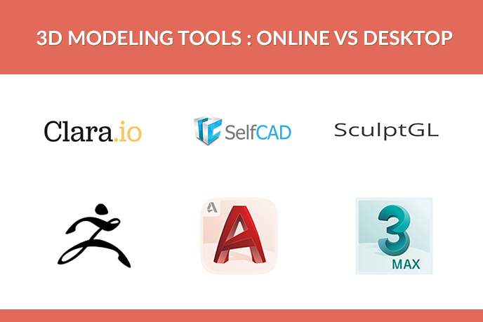 Online vs Desktop 3D Modeling Tools