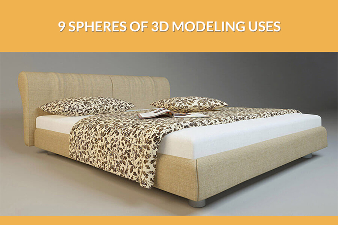 9 Spheres Of 3D Modeling Uses