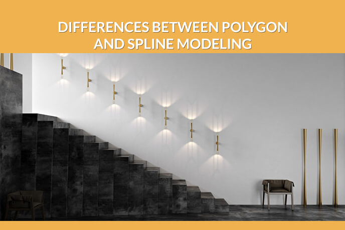 Differences Between Polygon And Spline Modeling