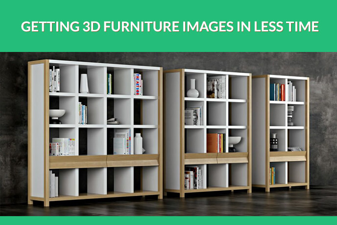 Speeding Up 3D Furniture Modeling Projects