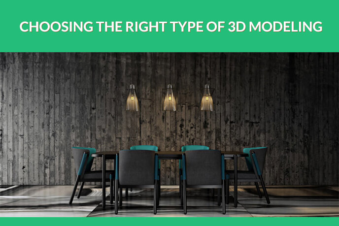 TYPES OF 3D MODELING: WHICH ONE TO CHOOSE? | UFO3D