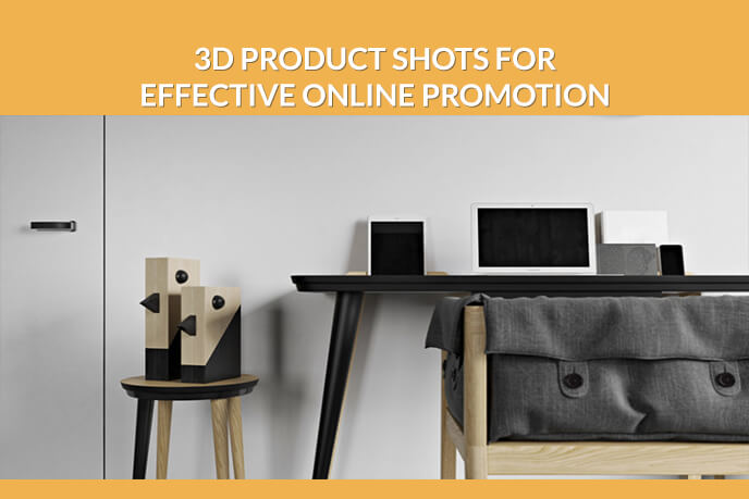 Choosing The Right Type Of 3D Product Shots For Online Marketing