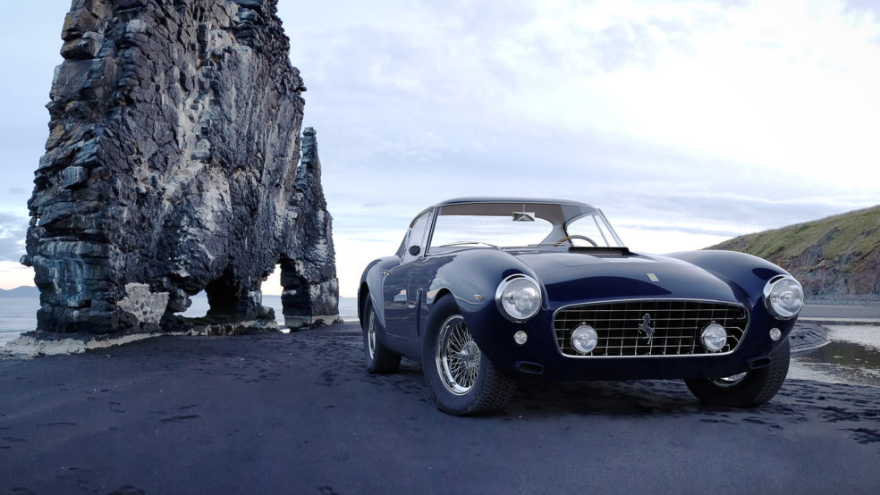 Photorealistic Car 3D Rendering
