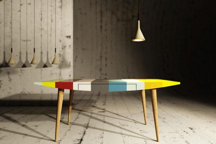 furniture 3d rendering