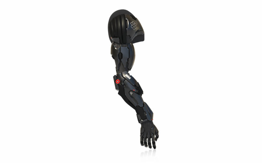 Quality 3D Rendering and Modeling for a Robot Hand