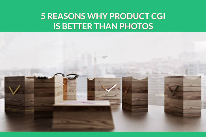 5 Reasons To Replace Photoshoots With CGI Product Photography