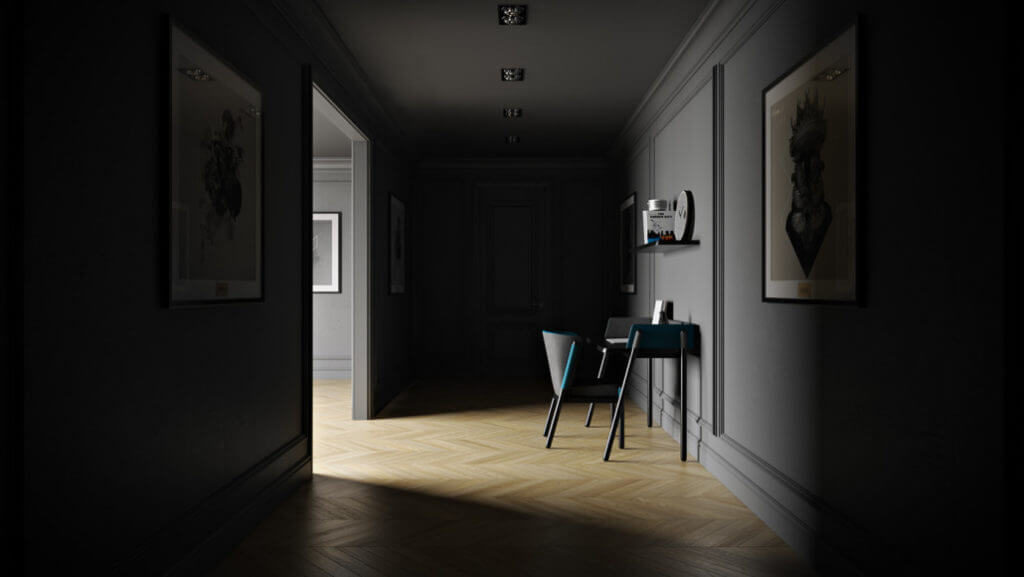 Realistic Lighting for Lifestyle Rendering