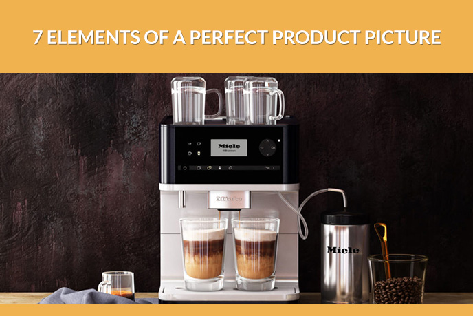 Coffee Machine Professional Product Picture for Web Store Sales
