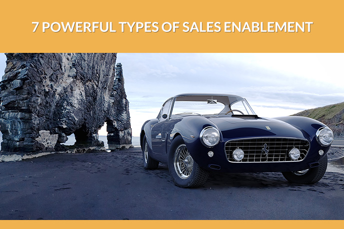Car 3D Visualization to Reinforce the Content for Sales Enablement