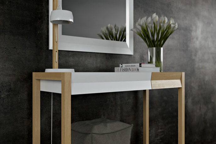 3D Modelling And Rendering Services For Dressing Table Visualization