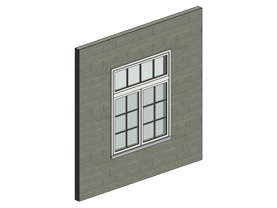3D Modeling Of A Window