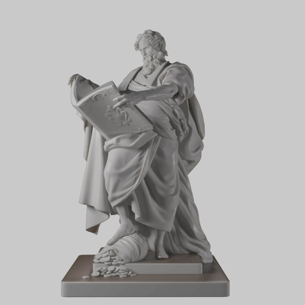 Statue 3D Modeling for Printing