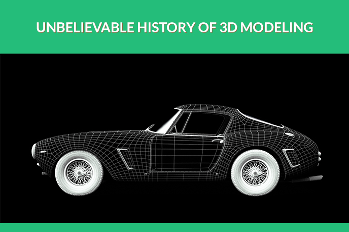 3D Wireframe Car Model
