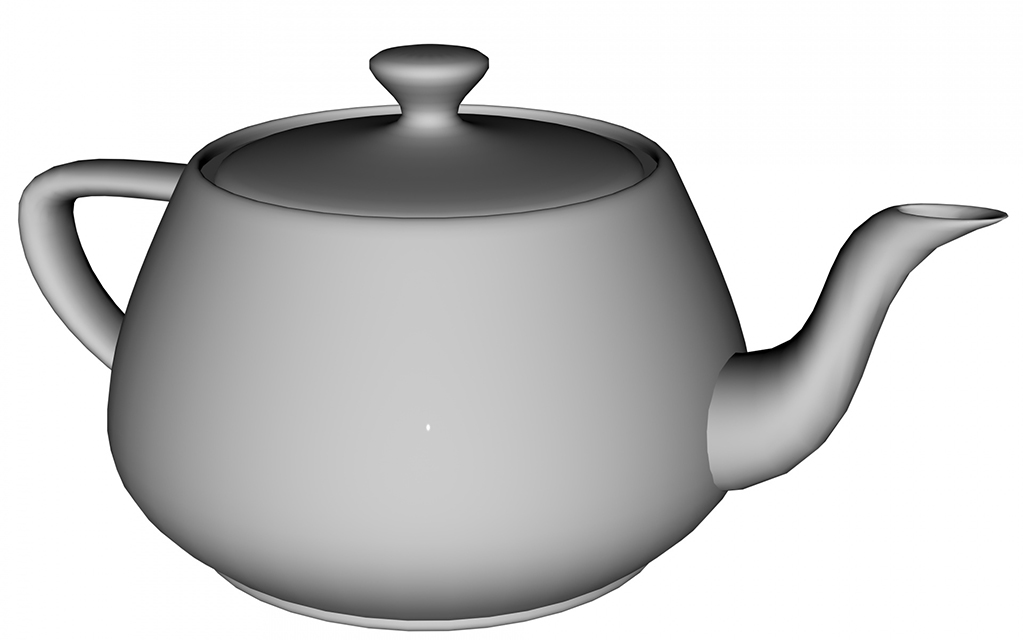 Simple 3D Modeling for a Teapot