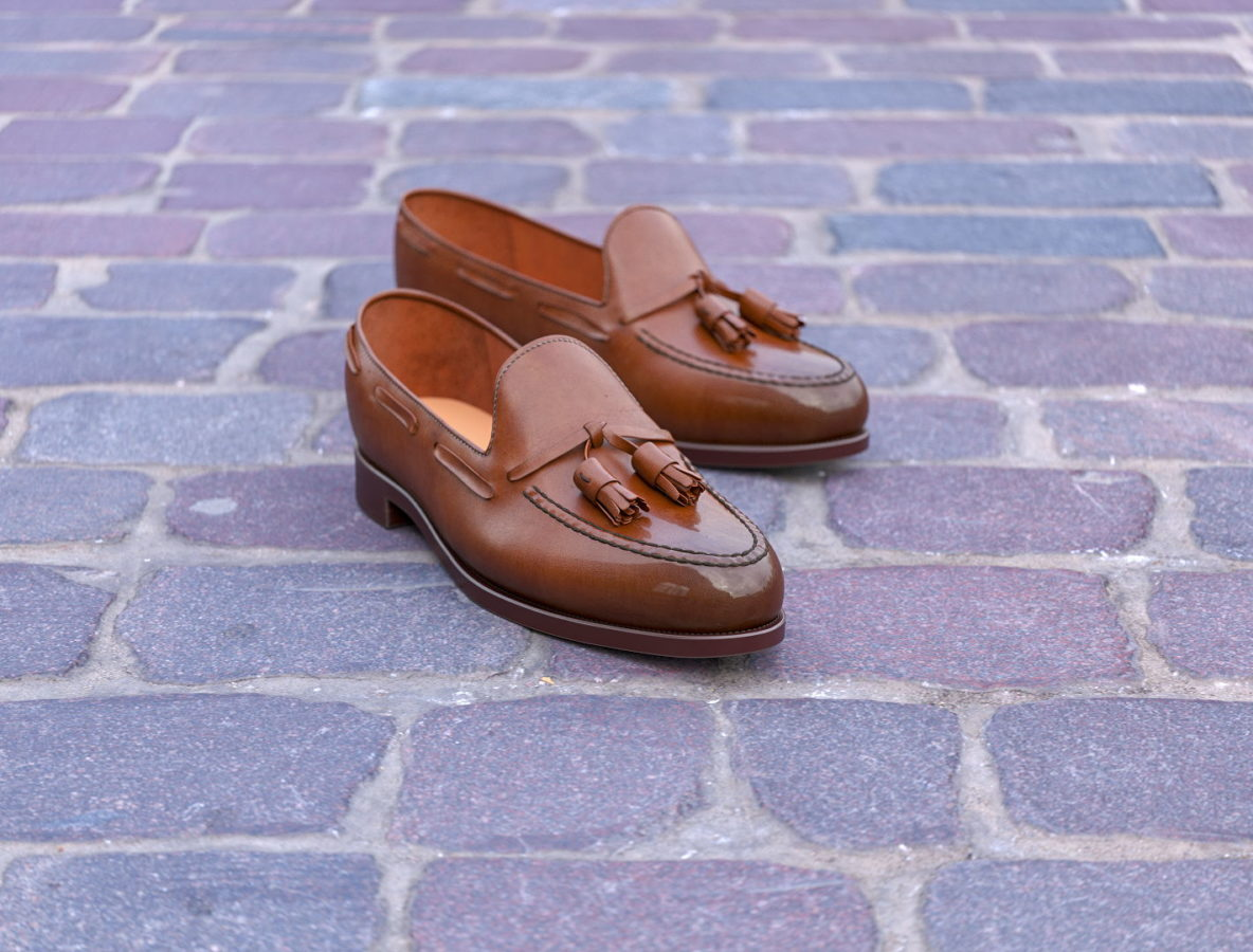 Product 3D Visualization for Leather Loafers
