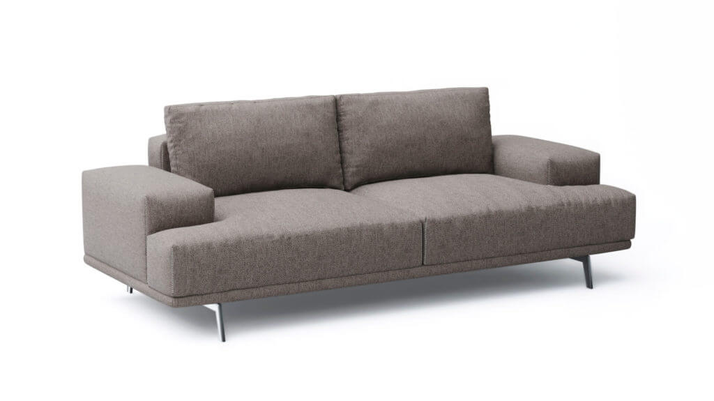 3D Rendering Of an Elegant Sofa