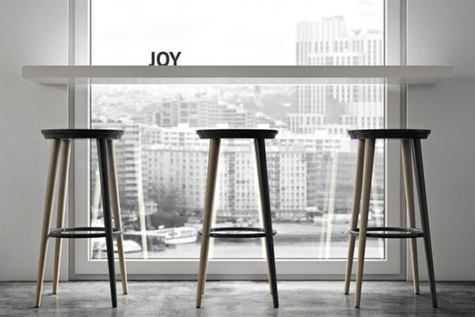 Product Animations For Sleek Bar Stools