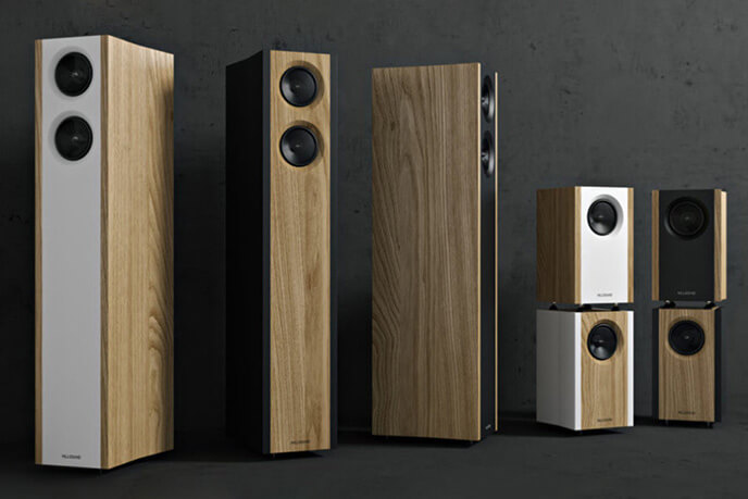Product Animation For Wooden Speakers Design