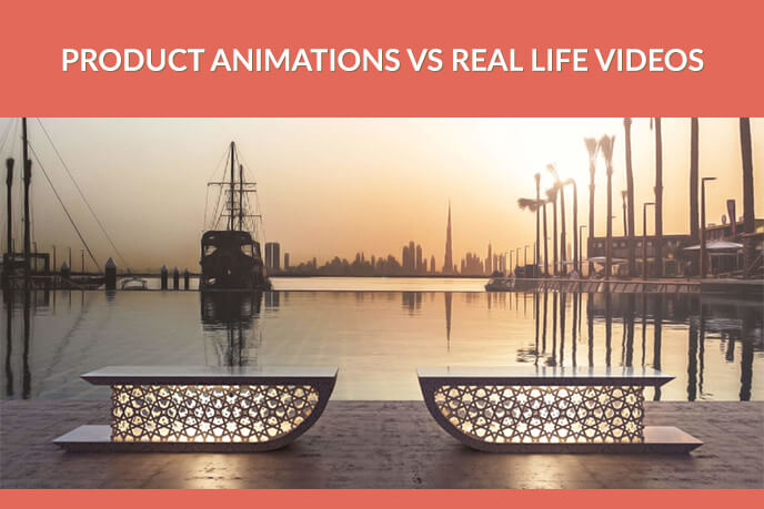 Product Animations For Elegant Bench Design