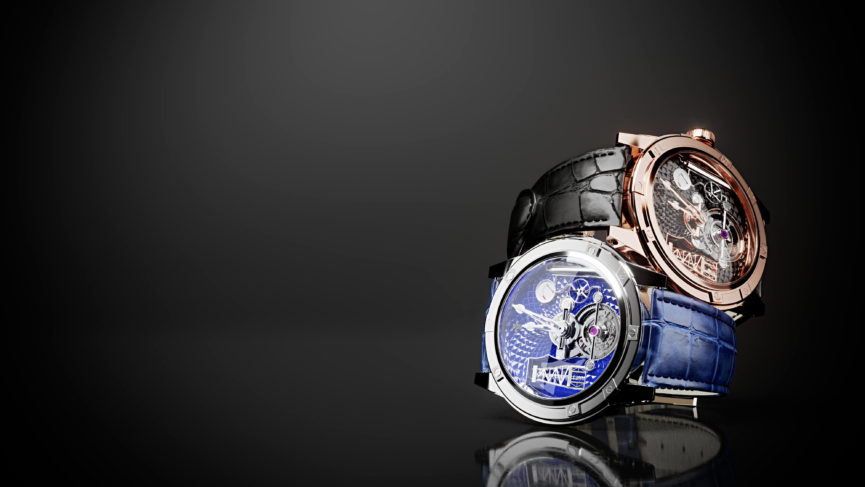 Photorealistic 3D Modeling for a Watch Project