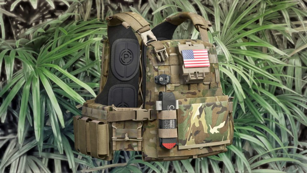 3D Modeled Photorealistic Body Armor