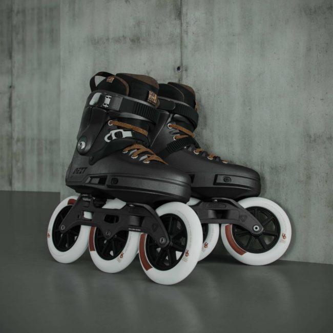 3D Modeled Roller Skates