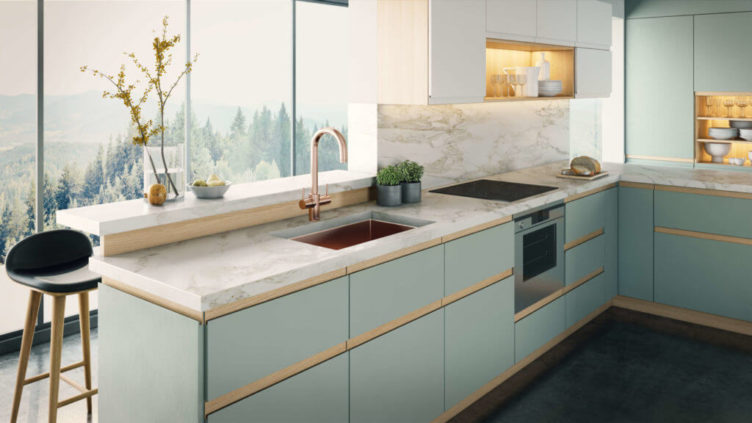 3D Visualization of a Kitchen Faucet