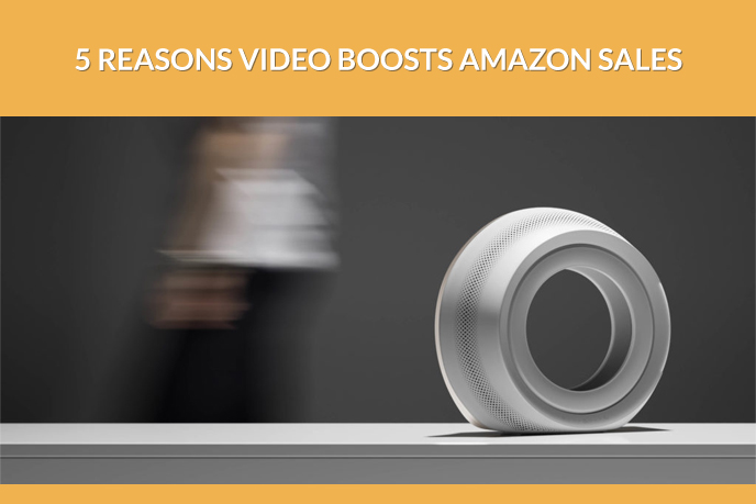 3D Product Animation of a White Speaker