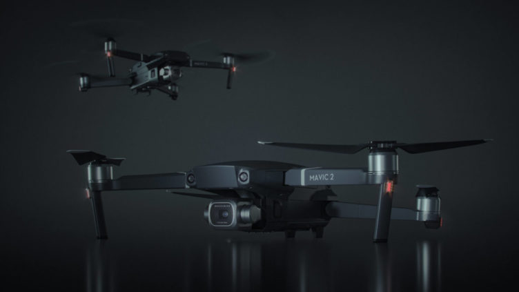 Realistic 3D Visualization of Two Drones