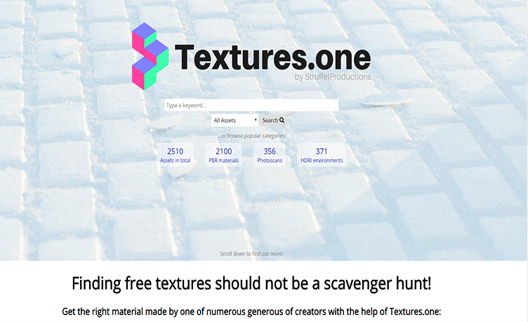 Textures For 3D Models From Textures.one.com