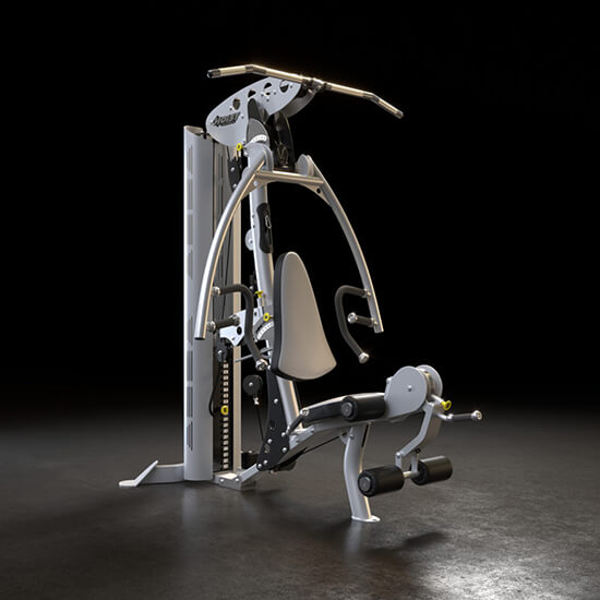 Photoreal 3D Model Of A Workout Machine