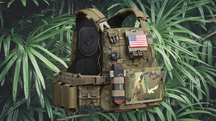 3D Rendering of a Body Armor Design