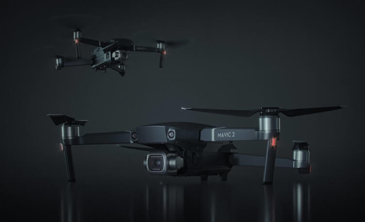 3D Product Model Of An Aerial Drone