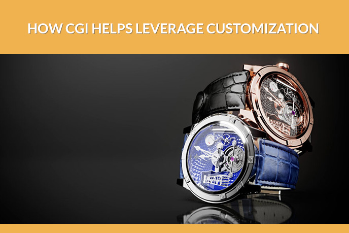 3D Models of Handwatches Made by a CGI Company