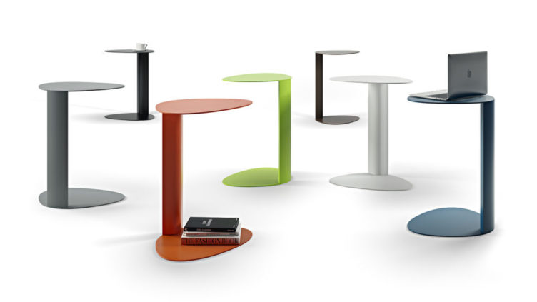 3D Models of Tables on White Background