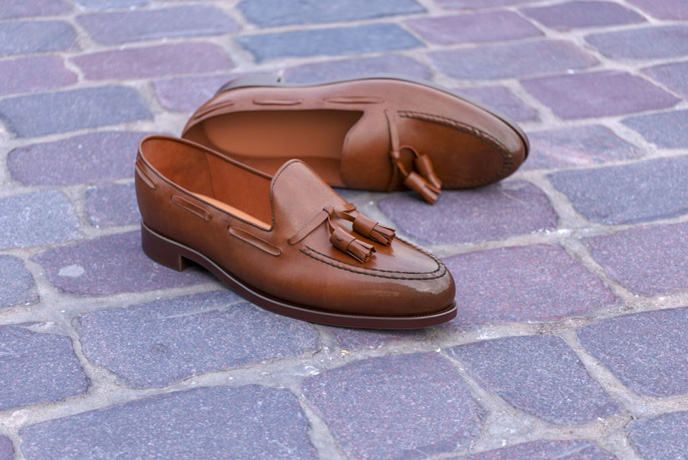 Loafers Ad Image for Content Marketing