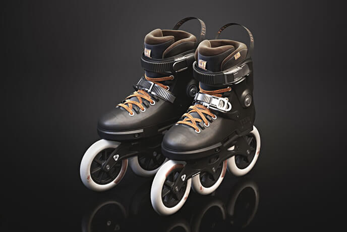 3D Visualization Of Roller Skates
