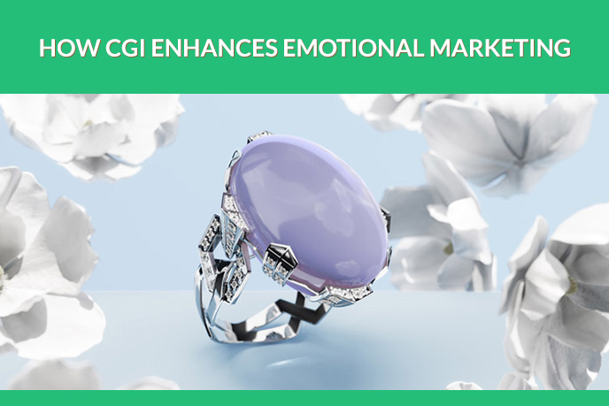 3D Ring Modeling and Rendering for Emotional Marketing