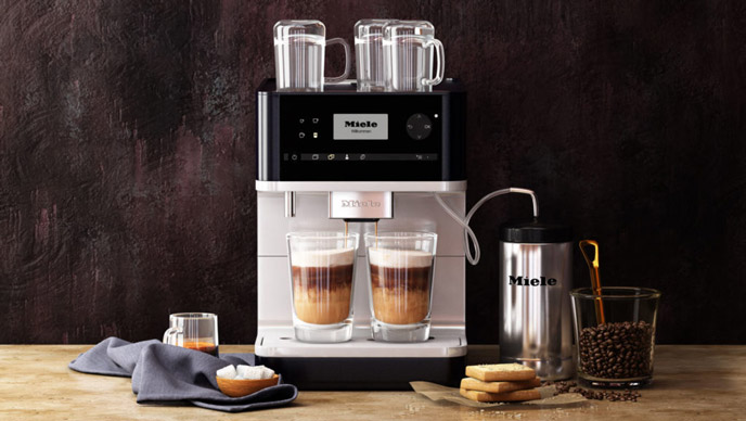 3D Visualization of a Coffee Machine in Context