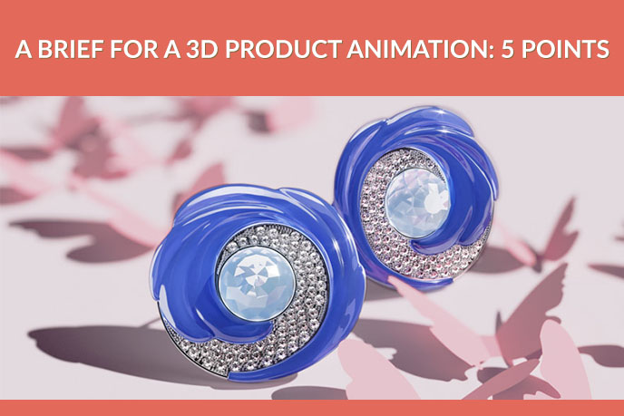 A 3D Video of Sophisticated Jewelry