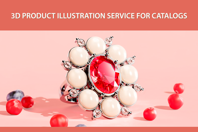 3D Illustration for Outstanding Product Catalog