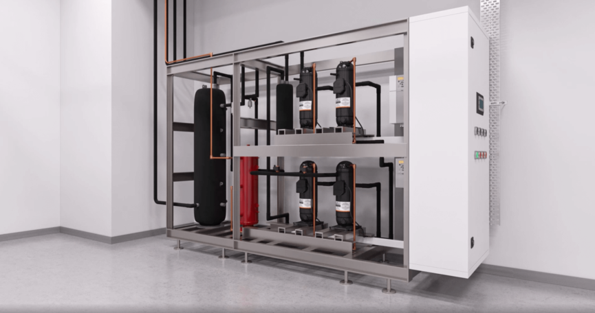 3D Modeling and Animation for Cooling Equipment