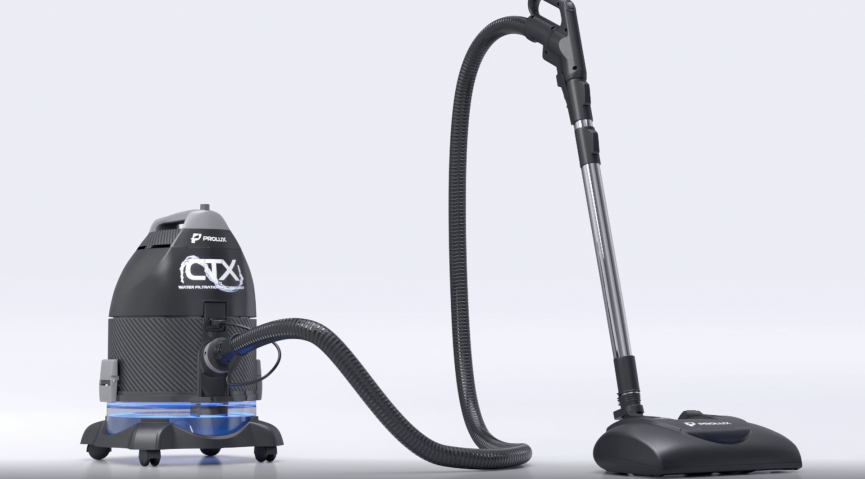 Custom 3D Model of a Vacuum Cleaner for CG Animation