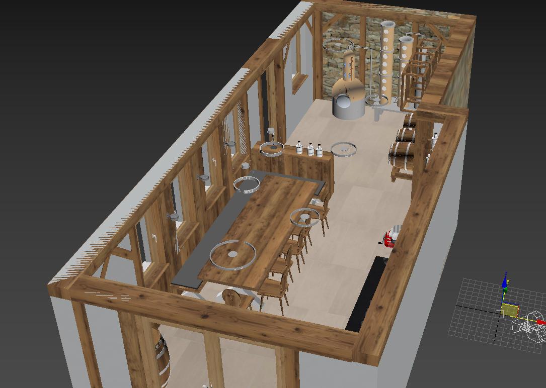 Screenshot of a Reference SketchUp 3D Scene